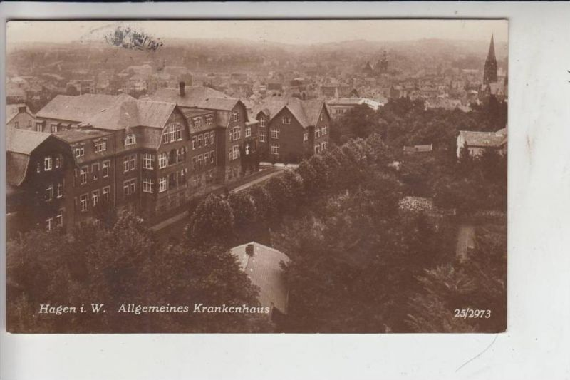 5800 HAGEN, Allgemeines Krankenhaus 1926 0