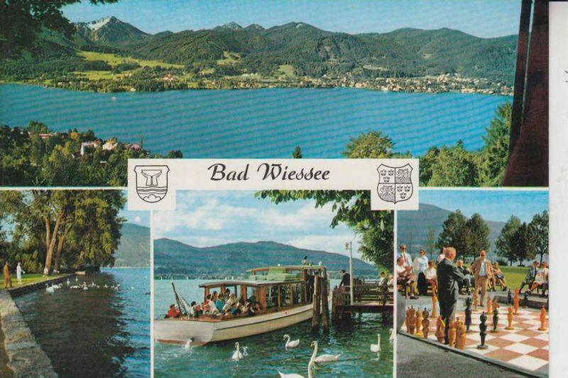 SPORT - SCHACH, Freiluftschach, open air chess - Bad Wiessee, Kurpark