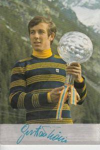 SPORT - WINTERSPORT - SKI Weltpokalsieger 1971 GUSTAV THÖNI, Trafoi-Südtirol
