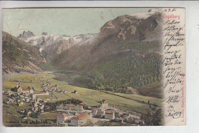 CH 6390 ENGELBERG, Ortsansicht 1901