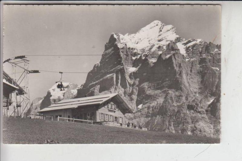 CH 3818 GRINDELWALD, Firstbahn, Sation Bort mit Wetterhorn