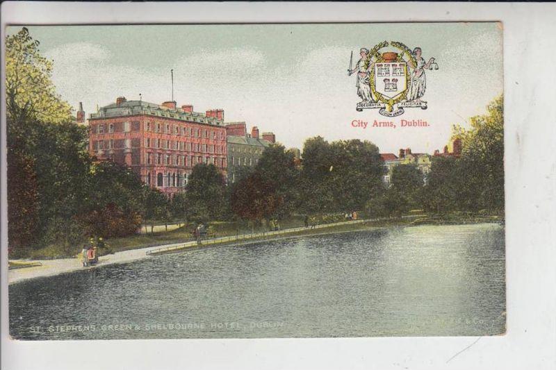 IRL - DUBLIN, Stephens Green & Shelbourne Hotel