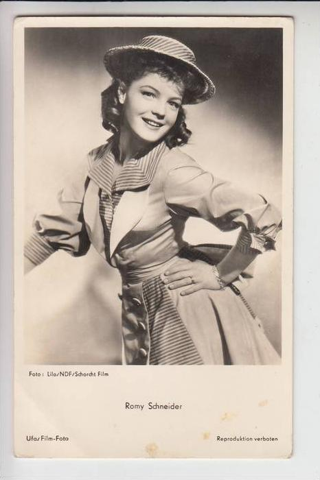 FILM - STAR - ROMY SCHNEIDER, Original 50er Jahre aus NDF