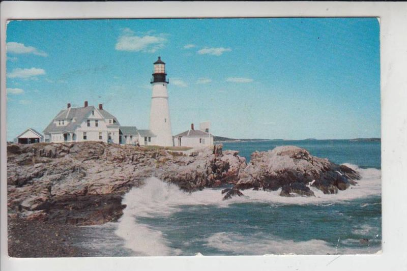 LEUCHTTÜRME - lighthouse - vuurtoren - Portland Headlight, Portland - Maine 1956