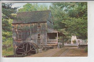MÜHLE - Molen - mill, Wassermühle, water mill, Wight's Gristmill, Sturbridge, Massachusetts