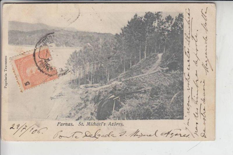 P 9650... FURNAS / Sao Miguel / Acores 1906