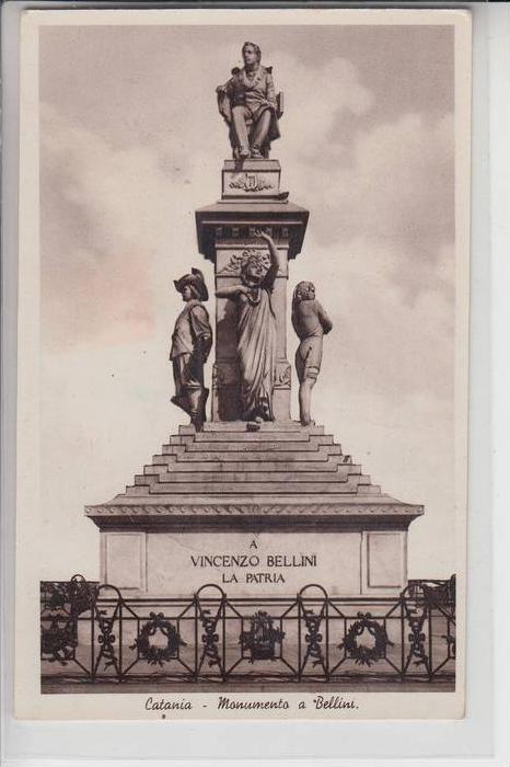 I 95100 CATANIA, Monumento a Bellini
