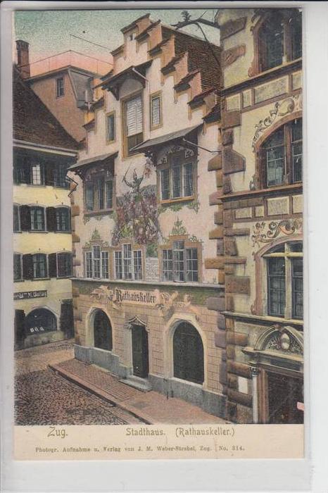CH 6300 ZUG, Stadthaus Rathauskeller