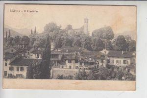 I 36015 SCHIO, Il Castello 1917, Militärpost - Zensur
