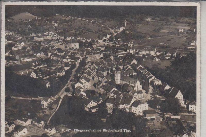 CH 9220 BISCHOFSZELL, Fliegeraufnahme 1946, Briefmarke fehlt