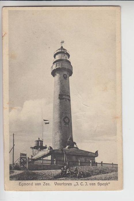 NL - NOORD-HOLLAND - EGMOND aan Zee, 1930, Vuurtoren