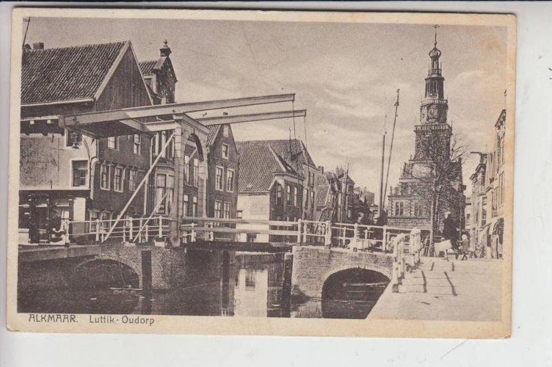 NL - NOORD-HOLLAND,  ALKMAAR, Luttik-Oudorp 1930, stamp missing
