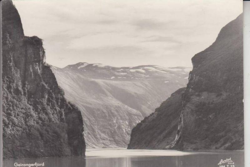 N - 6216 GEIRANGER, Geirangerfjord