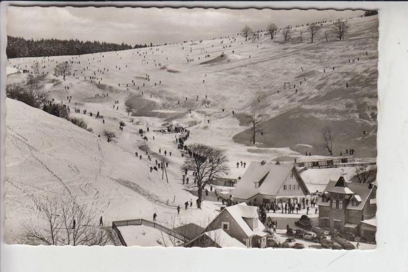 3424 ST.ANDREASBERG, Matthias-Schmidt-Berg mit Skilift 1962