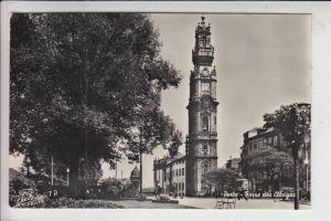 P 4049 PORTO, Torre des Clerigos 1954, stamp missing
