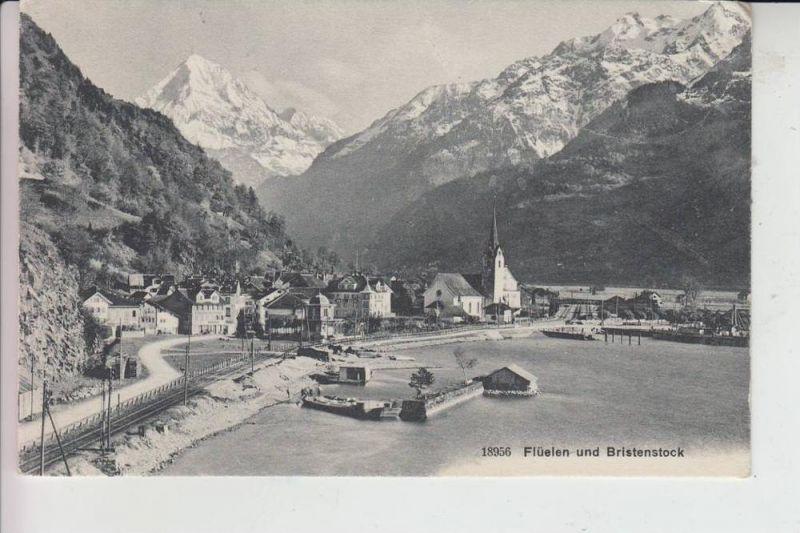 CH 6454 FLÜELEN & Bristenstock