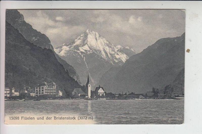 CH 6454 FLÜELEN & Bristenstock 1914