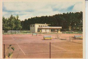 SPORT - TENNIS - Riga / Lettland,  Die neuen Tennisplätze im Mezapark 1962