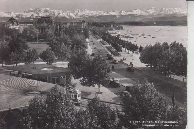 CH 8000 ZÜRICH, Bellevueplatz 1955