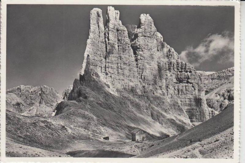 I 39050 TRIERS -Gartlhütte / König-Albert-Hütte an der Rosengartengruppe 1962
