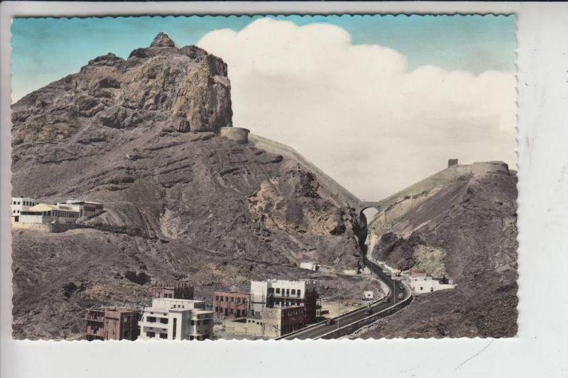 YEMEN - ADEN, Main Pass Crater, Railway