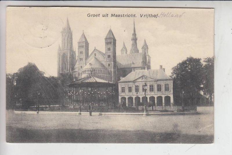 NL - LIMBURG - MAASTRICHT, Vrijthof 1912