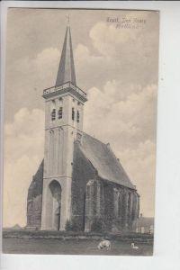 NL - NOORDHOLLAND - TEXEL - DEN HOORN, 1916 Kerk, Militärpost
