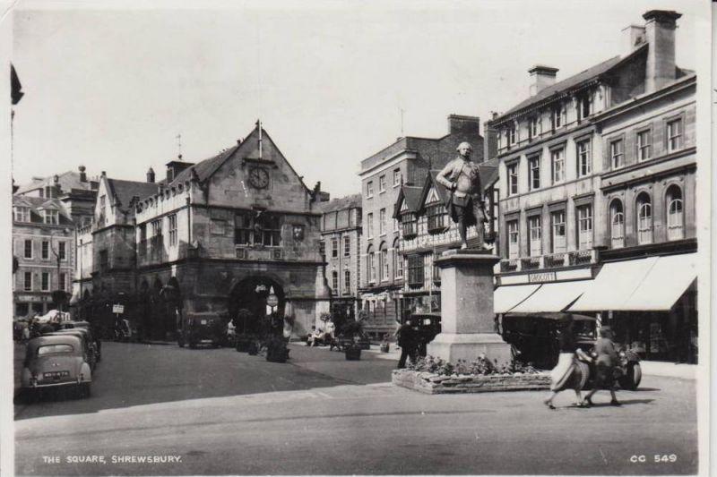 UK - ENGLAND - SHROPSHIRE, SHREWSBURY, The Square