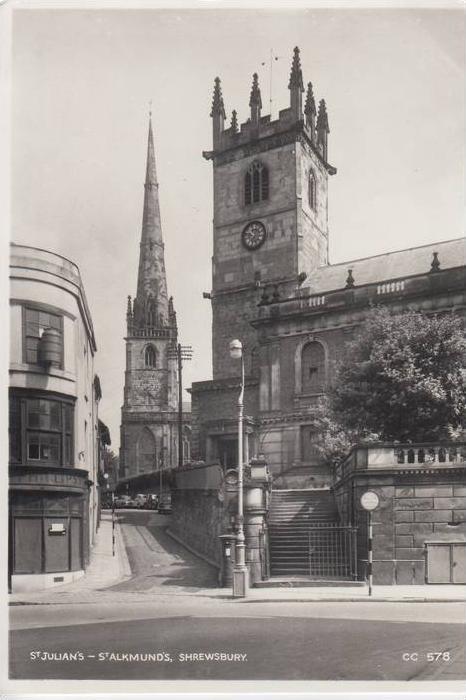 UK - ENGLAND - SHROPSHIRE, SHREWSBURY, St.Julians -St.Alkmunds