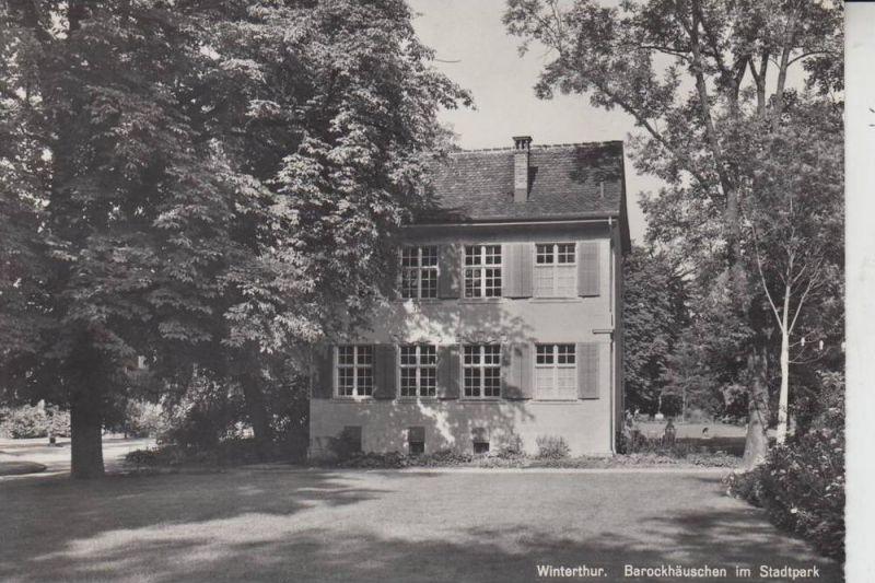 CH 8400 WINTERTHUR, Barockhäuschen im Stadtpark, Werbe-Stempel Internationale Briefwoche 1958, Brieftaube