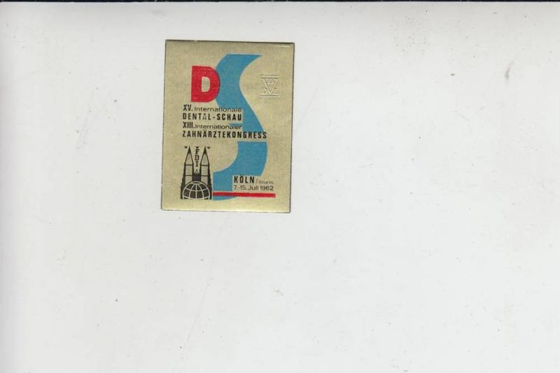 MEDIZIN - Zahnmedizin - Dentalschau / Zahnärztekongress Köln 1962