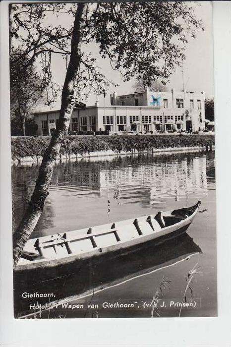 NL - OVERIJSSEL - GIETHOORN, Hotel Wapen van Giethoorn 1959