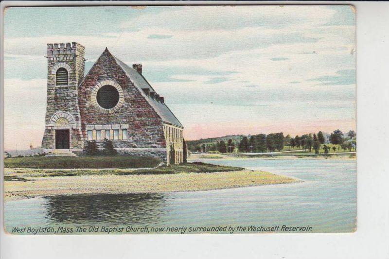 USA - MASSACHUSETTS - WEST BOYLSTON, Old Baptist Church