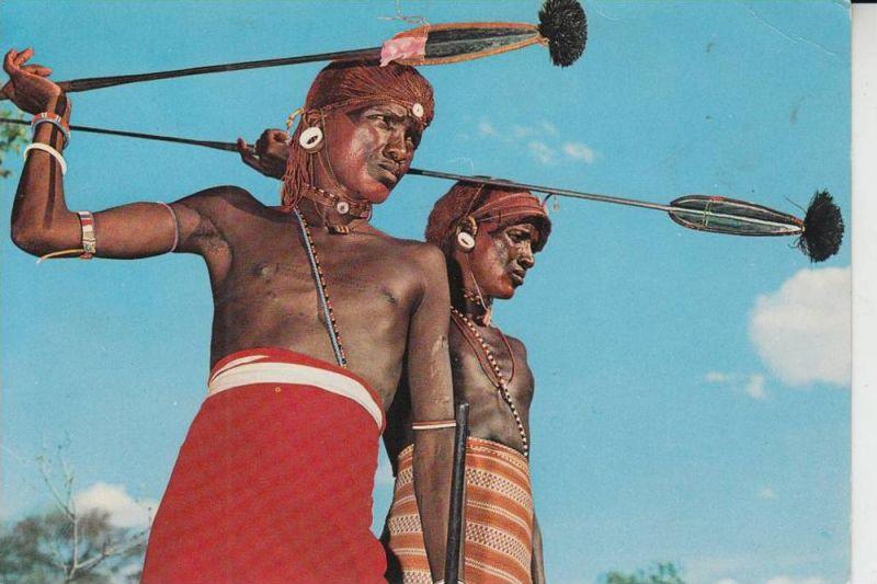KENIA - Ethnic - Völkerkunde - Samburu Warriors