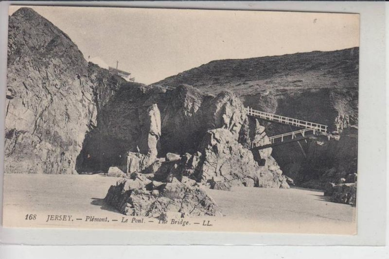 UK - ENGLAND - CHANNEL ISLANDS -JERSEY - Plemont - The Bridge, Louis Levy # 168