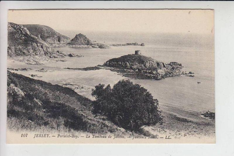 UK - ENGLAND - CHANNEL ISLANDS -JERSEY - Portelet-Bay, Janvin's Tomb, Louis Levy # 107
