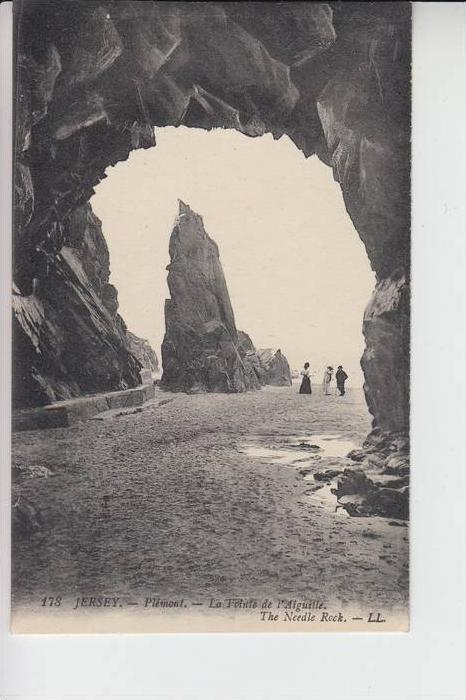 UK - ENGLAND - CHANNEL ISLANDS -JERSEY - Plemont, The Needle Rock, Louis Levy # 178