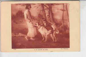 TIERE - HUNDE -Schäferhund - Chien de berge - sheperd dog - herdershond, Künstler-Karte