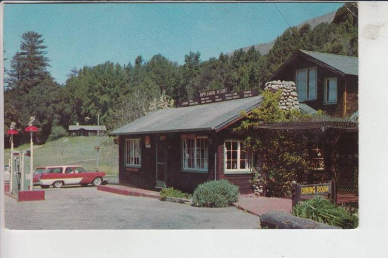 USA - CALIFORNIA - BIG SUR - Ripplewood Resort, US Car