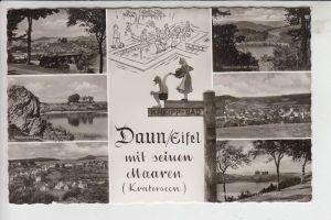 5568 DAUN, Mehrbildkarte Ende 50er Jahre