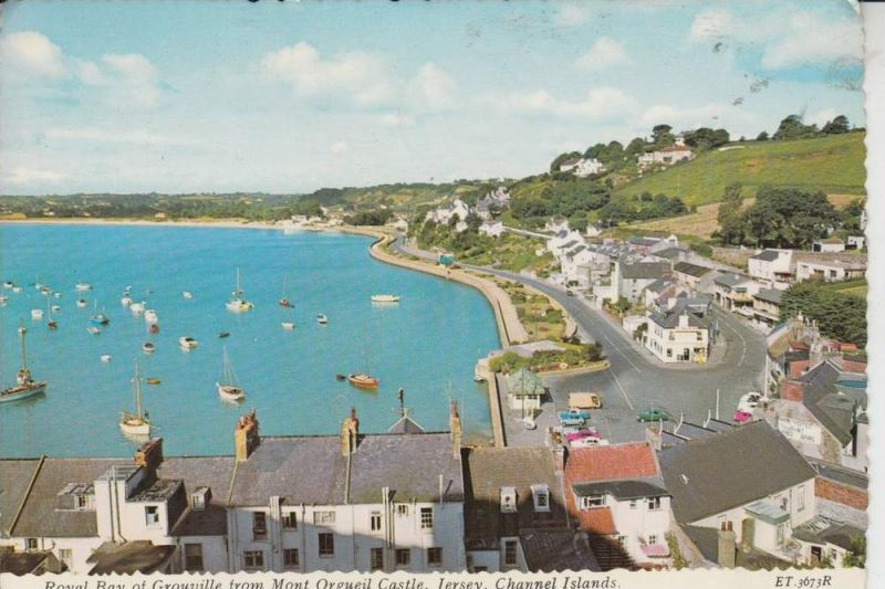 UK - ENGLAND - CHANNEL ISLANDS -JERSEY - Royal Bay of Grouville 1975