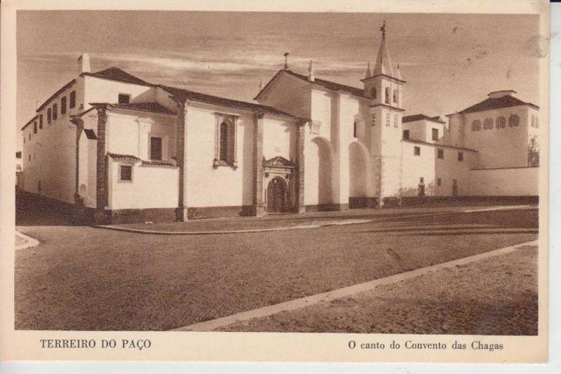P 1000- LISBOA - LISSABON , Terreiro do Paco - O canto do Convento das chagas