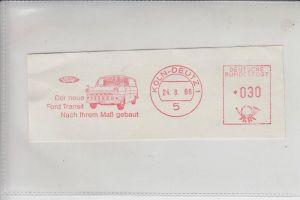 AUTO - FORD Transporter Köln-Deutz - Freistempler 1966
