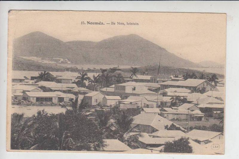 NEUKALEDONIEN, NOUMEA, Ile Nou, lointain 1906