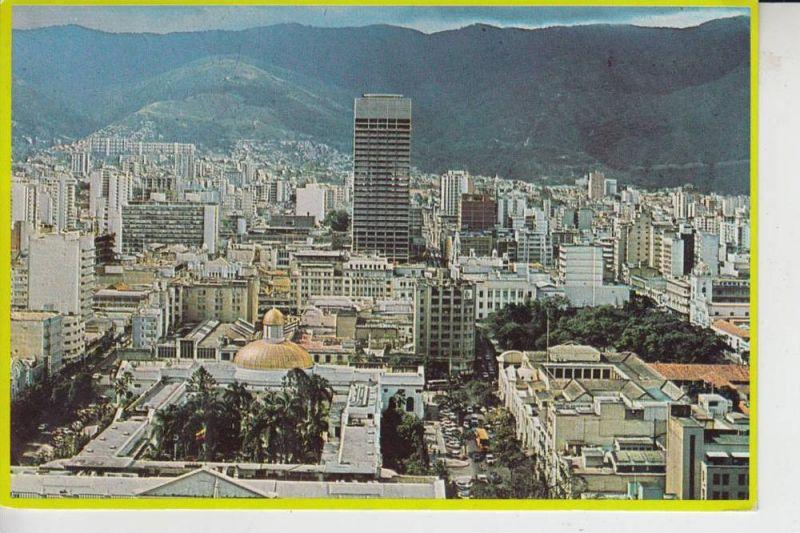 VENEZUELA 1010-A CARACAS, Venezuela, Panoramica del Capitolio y Plaza Bolivar 1975