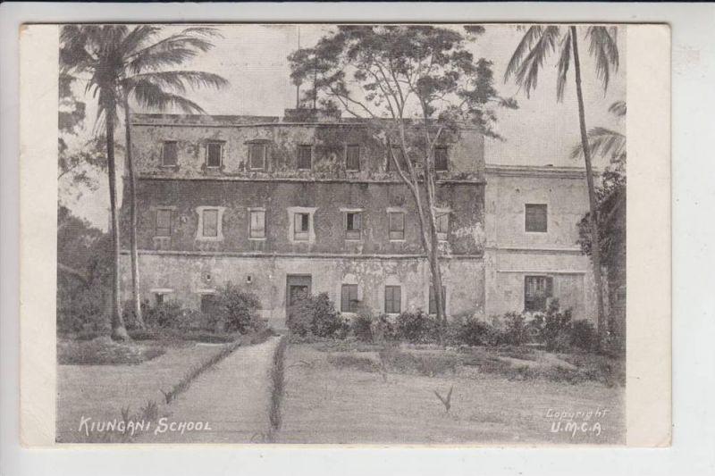 KENIA - KIUNGANI SCHOOL - Kipugani Lamu Island