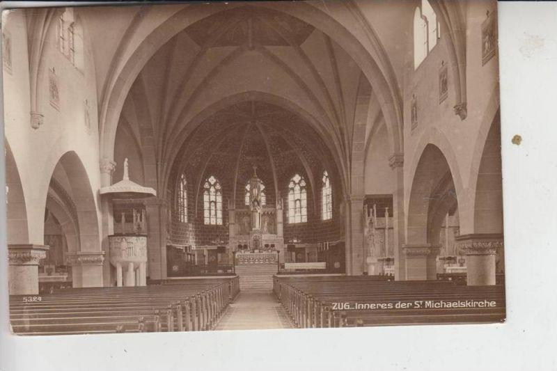 CH 6300 ZUG, Inneres der St. Michaelskirche