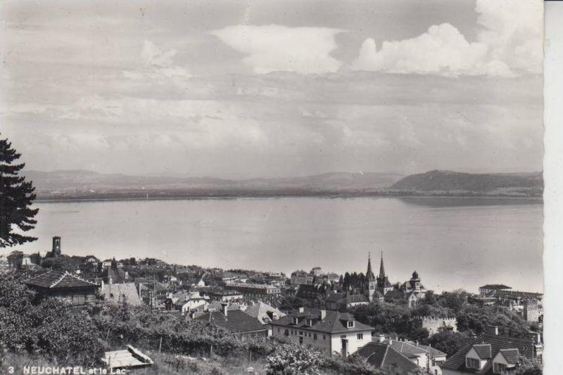 CH 2000 NEUCHATEL / NEUENBURG et le Lac 1957