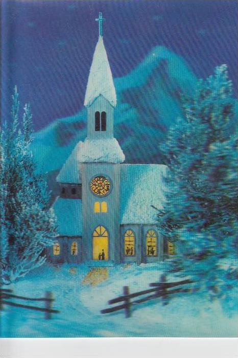MATERIAL - 3D - Wintere Kirche