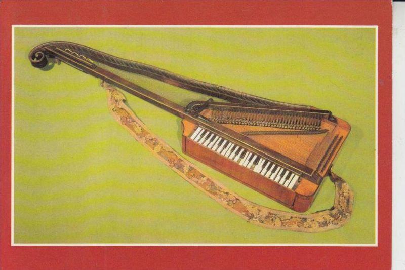 MUSIK - Orphika von Dohnai, Wien 1800, Musikinstrumenten-Museum Markneukirchen